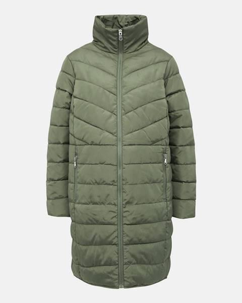 Zelený kabát Dorothy Perkins Maternity