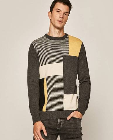 Sivý sveter MEDICINE