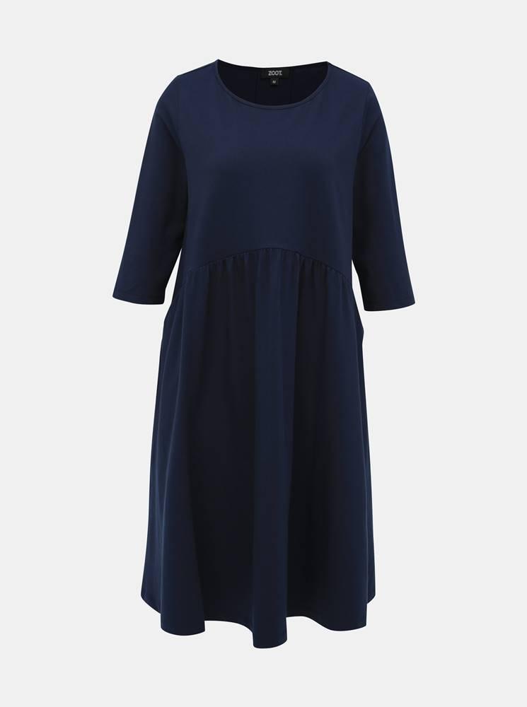 ZOOT Tmavomodré basic šaty ZOOT Peggy