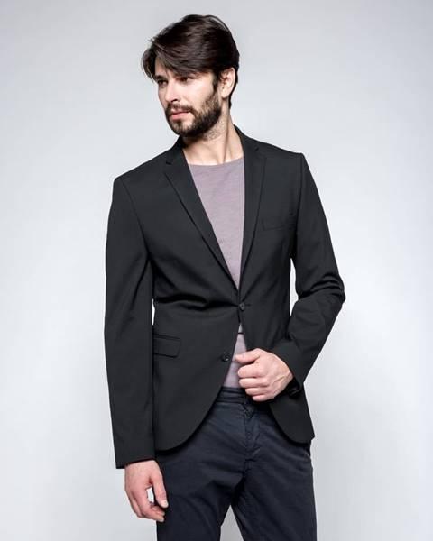 Čierny oblek Selected Homme
