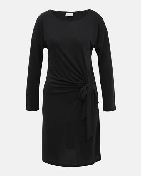 Tmavosivé šaty Vila