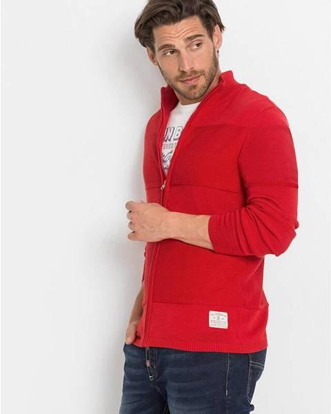 bonprix Pletený sveter v pásikovanom dizajne