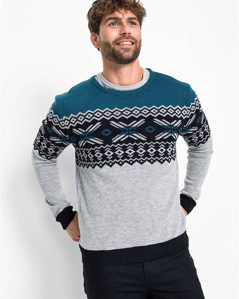 bonprix Nórsky pulóver Regular Fit