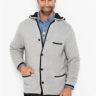 Krojový sveter s kapucňou