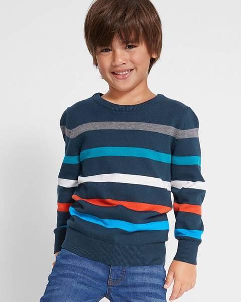 bonprix Pásikovaný pulóver