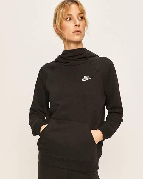 Čierna mikina s kapucňou Nike Sportswear