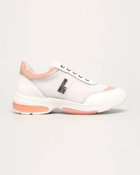 Biele topánky Love Moschino