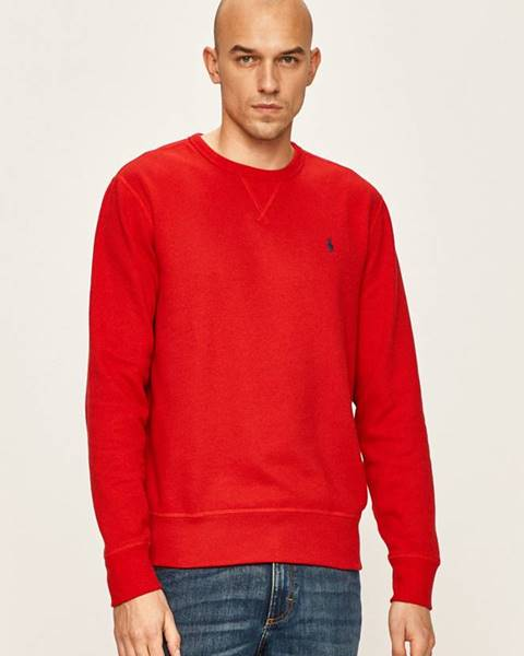 Červená mikina Polo Ralph Lauren