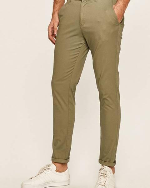 Zelené nohavice Selected