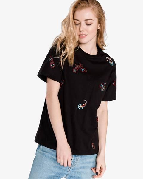 Čierne tričko Pinko
