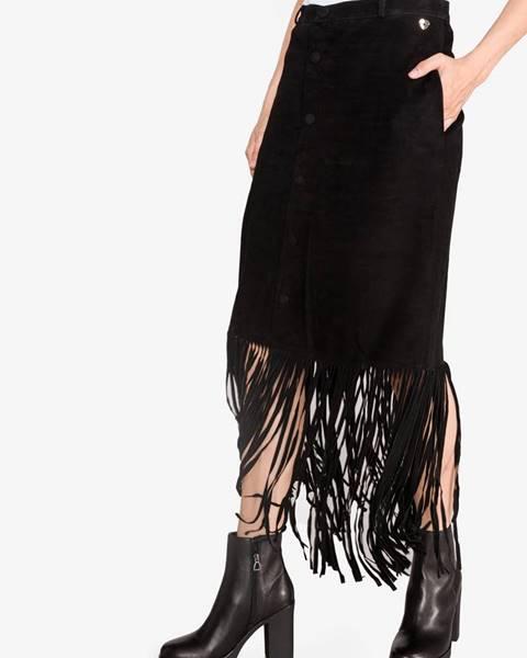 Čierna sukňa Twinset