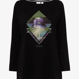 Tričko O´Neill Lw Kalani L/Slv T-Shirt Čierna
