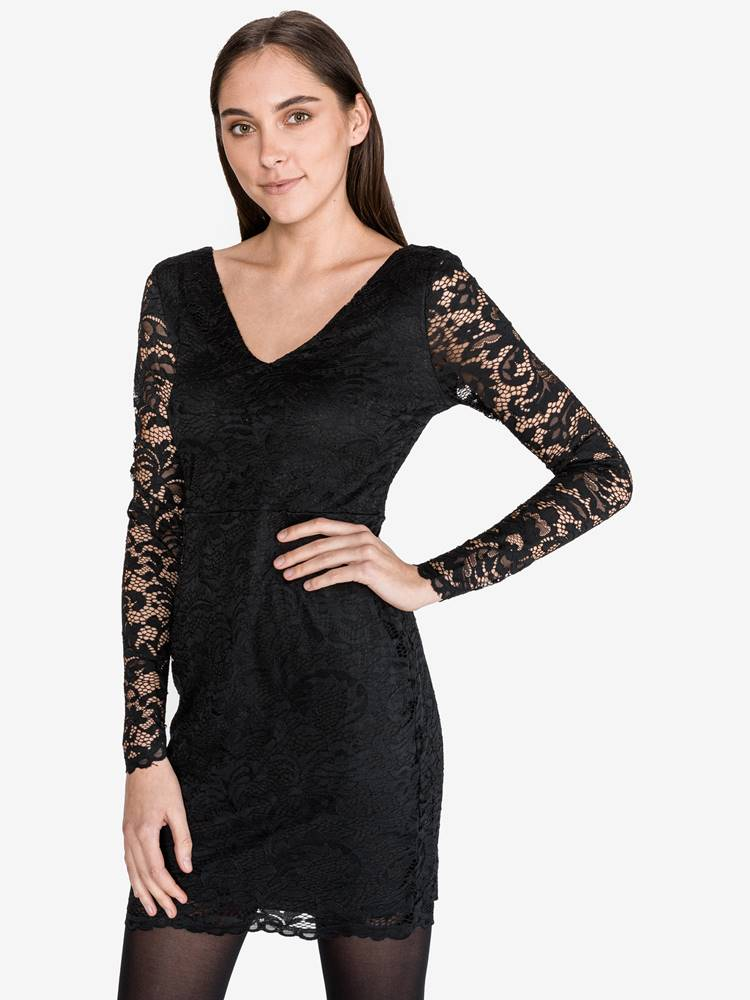 Vero Moda Dora Šaty Vero Moda Čierna