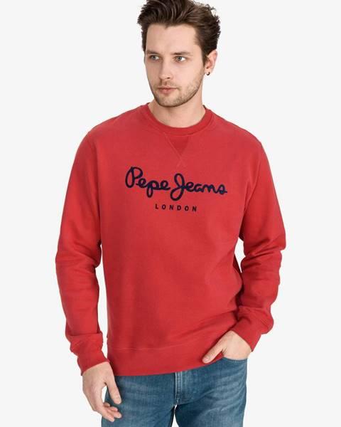 Červená bunda bez kapucne Pepe jeans