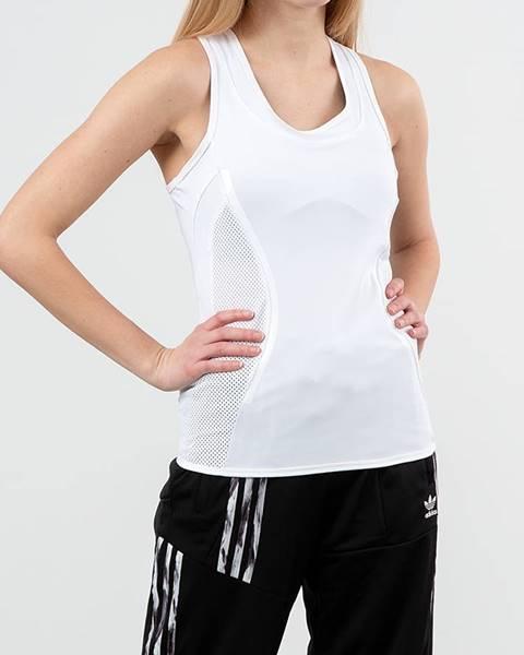 Biele tričko adidas Performance
