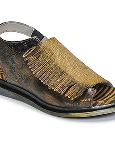 Žlté sandále Papucei