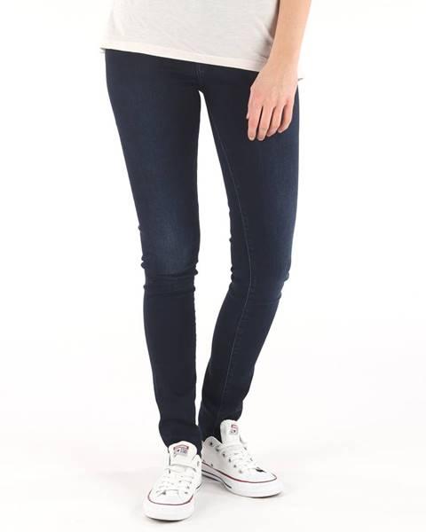 Modré skinny nohavice Pepe jeans