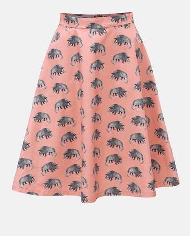 Ružová sukňa annanemone