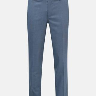 Svetlomodré oblekové nohavice Selected Homme Logan