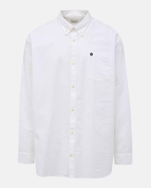 Biela košeľa Selected Homme