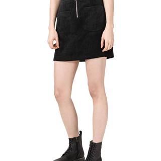 Vero Moda Cordatine Sukňa Čierna