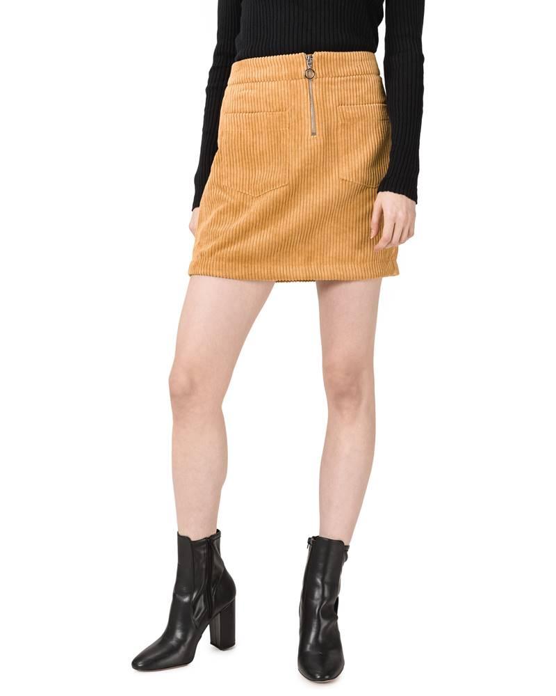 Vero Moda Vero Moda Cordatine Sukňa Žltá Oranžová