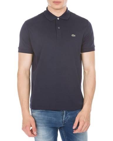 Modré tričko Lacoste