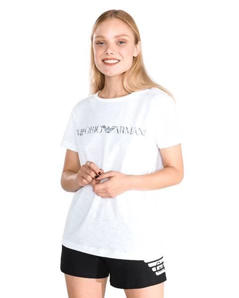 Biele bavlnené prádlo Emporio Armani