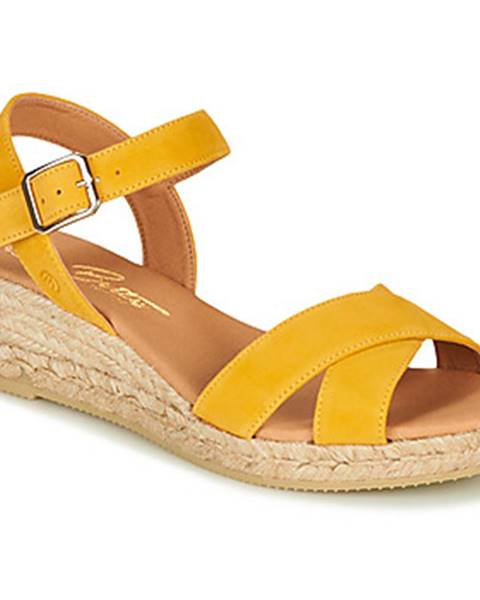 Žlté sandále Betty London