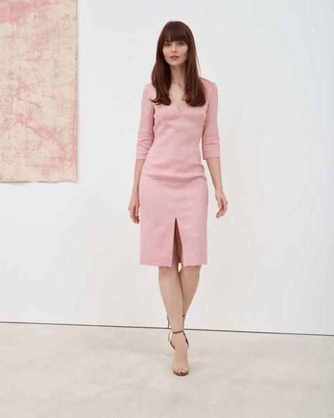 Ružové šaty Pietro Filipi