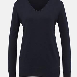 Tmavomodrý dámsky basic sveter ZOOT Baseline Irma