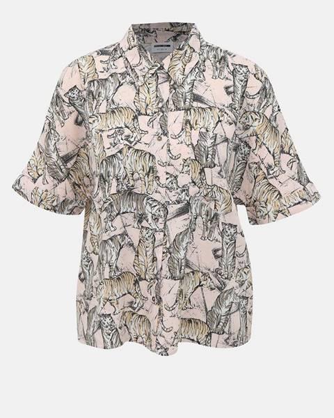 Ružová košeľa Noisy May