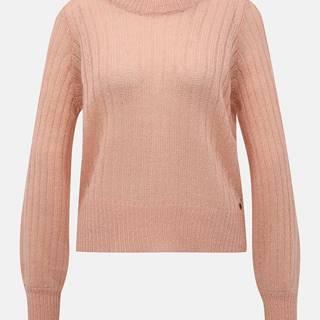 Ružový sveter Noisy May Sabby