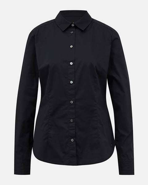 Čierna košeľa zoot baseline