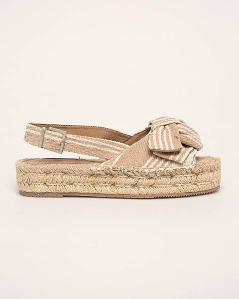 Béžové sandále Corina
