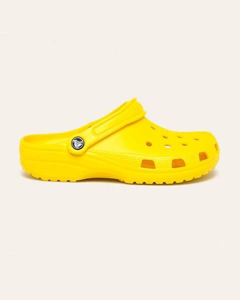 Žlté sandále Crocs