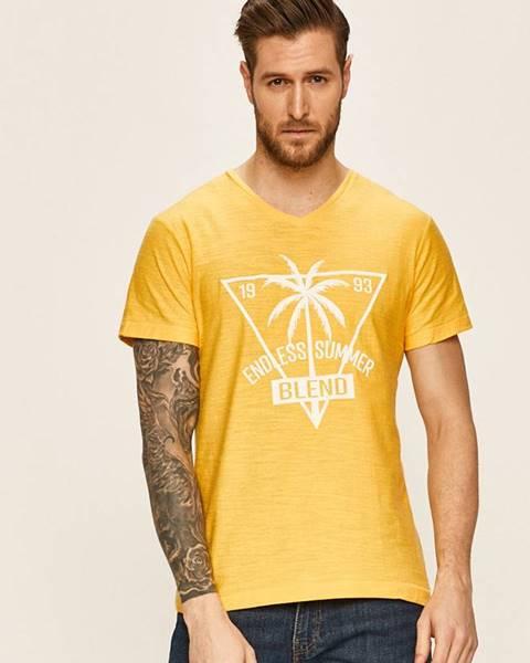 Žlté tričko Blend