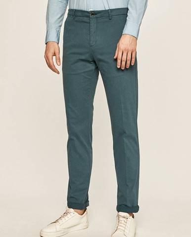 Modré nohavice Tommy Hilfiger Tailored