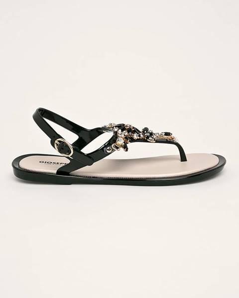 Čierne sandále Gioseppo