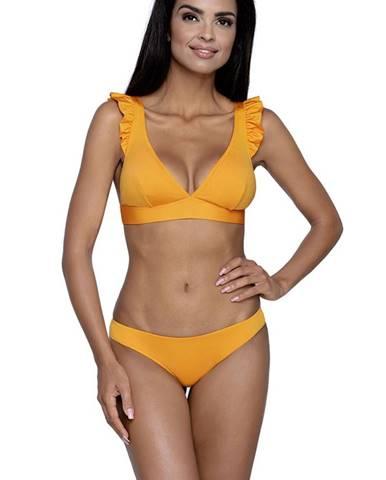 Oranžové dvojdielne plavky LORIN