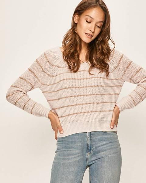 Ružový sveter Only