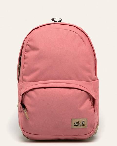 Ružový batoh Jack Wolfskin