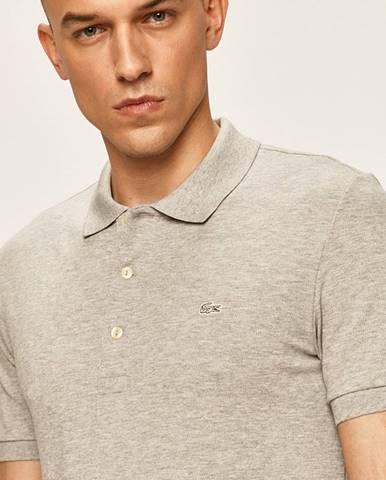 Sivé tričko Lacoste