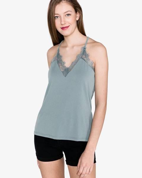 Modré čipkované prádlo Vero Moda