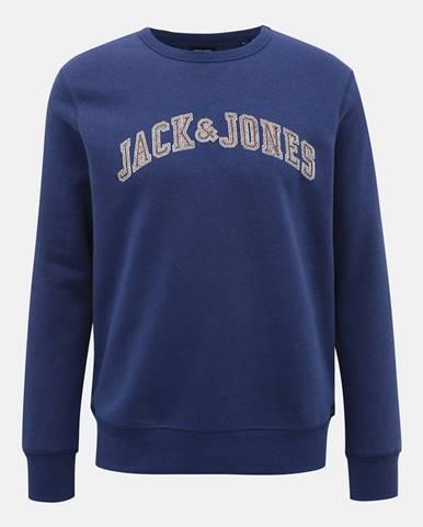 Modrá mikina Jack & Jones