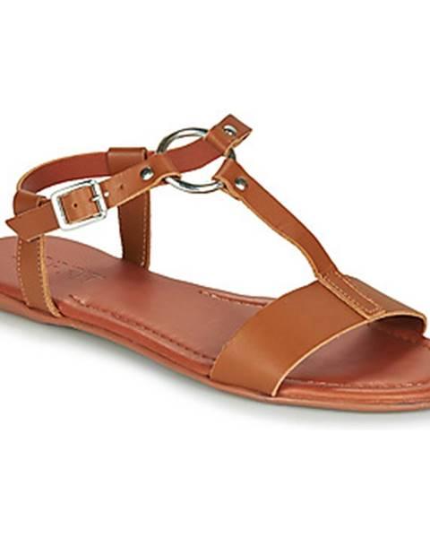 Hnedé sandále Esprit