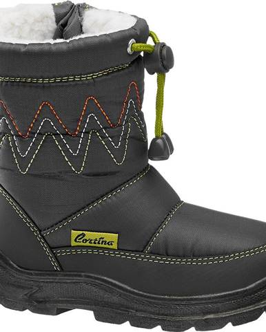 Sivé zimná obuv Cortina