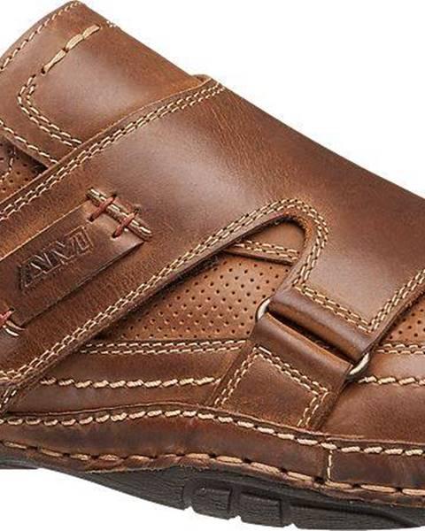 Hnedé topánky AM SHOE
