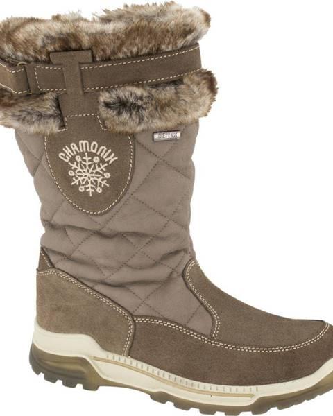 Hnedé zimná obuv Landrover