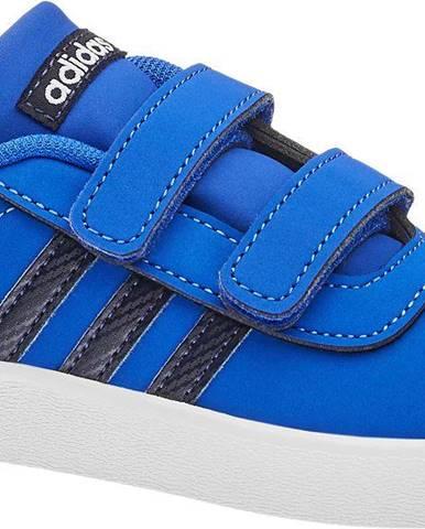 Modré poltopánky adidas